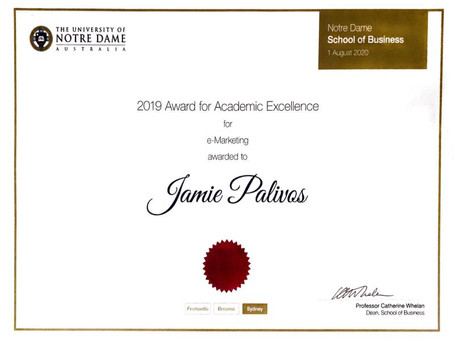 Malleys Lawyers Law Clerk wins Award for Academic Excellence