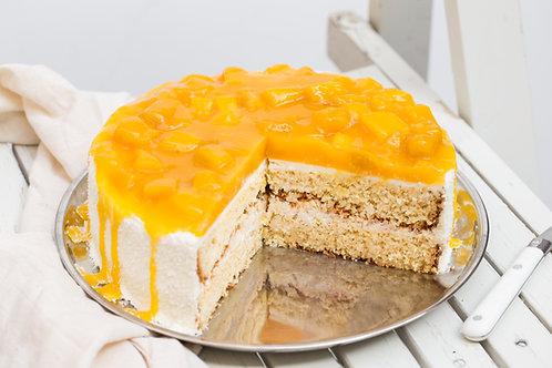 Mango-kokosová torta