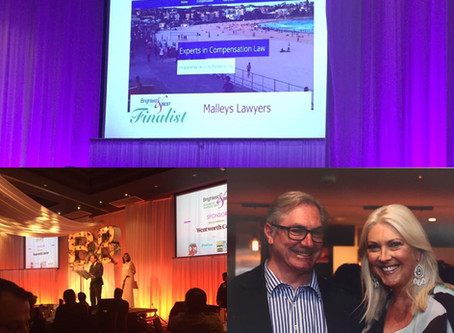 Malleys Lawyers voted Brightest & Best Business Awards Finalists