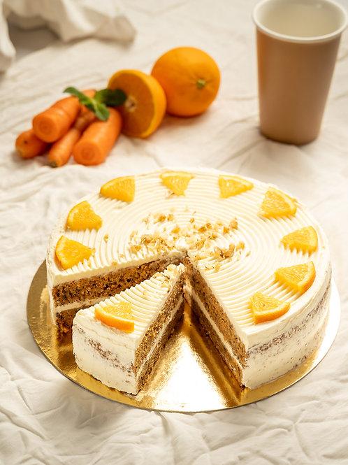Mrkvovo-orechová torta