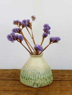 Bud Vase, Wood Ash Glaze