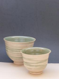 Warm Green Vase