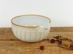 Dolomite White Pouring Bowl