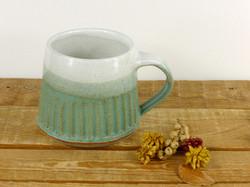 Jade & White Mug