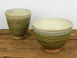 Wood Ash Glazed Bowls