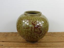 Wood Ash Moon Jar