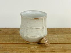 Dolomite White 'Yunomi' Tea Cup