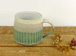 Jade Fluted Mug