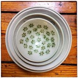 Green Mishima Bowls