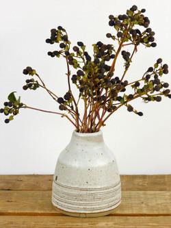 Dolomite White Bud Vase