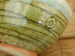 Close up Wood Ash Glaze