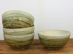 Cereal Bowl, Wood Ash Glaze