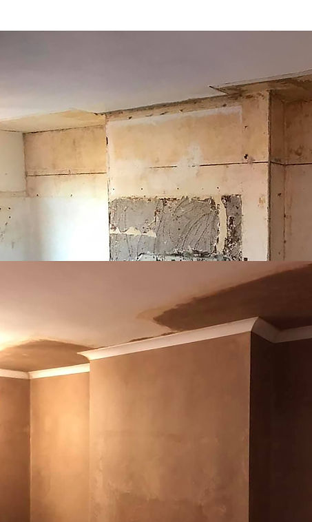 Ceiling and coving before & after.jpg