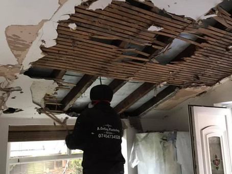 Replacing a Ceiling