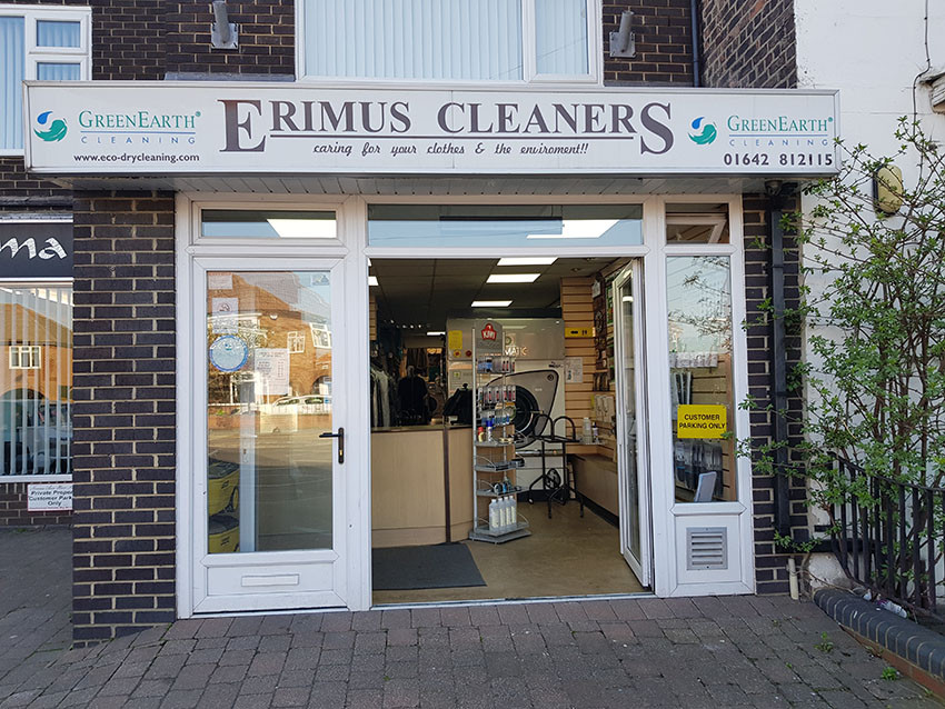 Erimus Cleaners Acklam Road Middlesbrough