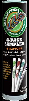 Shaman Smokes 4 flavor Sample.png