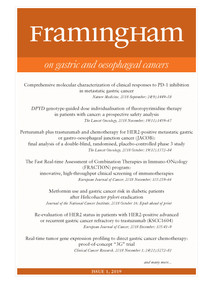 Framingham on Gastric and Oesophageal Cancers 1-2019
