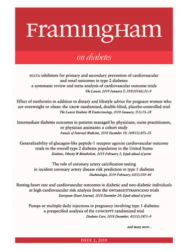 Framingham on Diabetes 2-2019