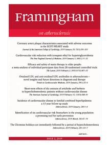 Framingham on Atherosclerosis 2-2019