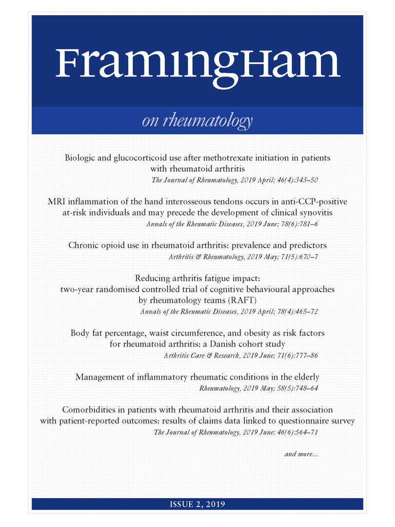 Framingham on Rheumatology 2-2019