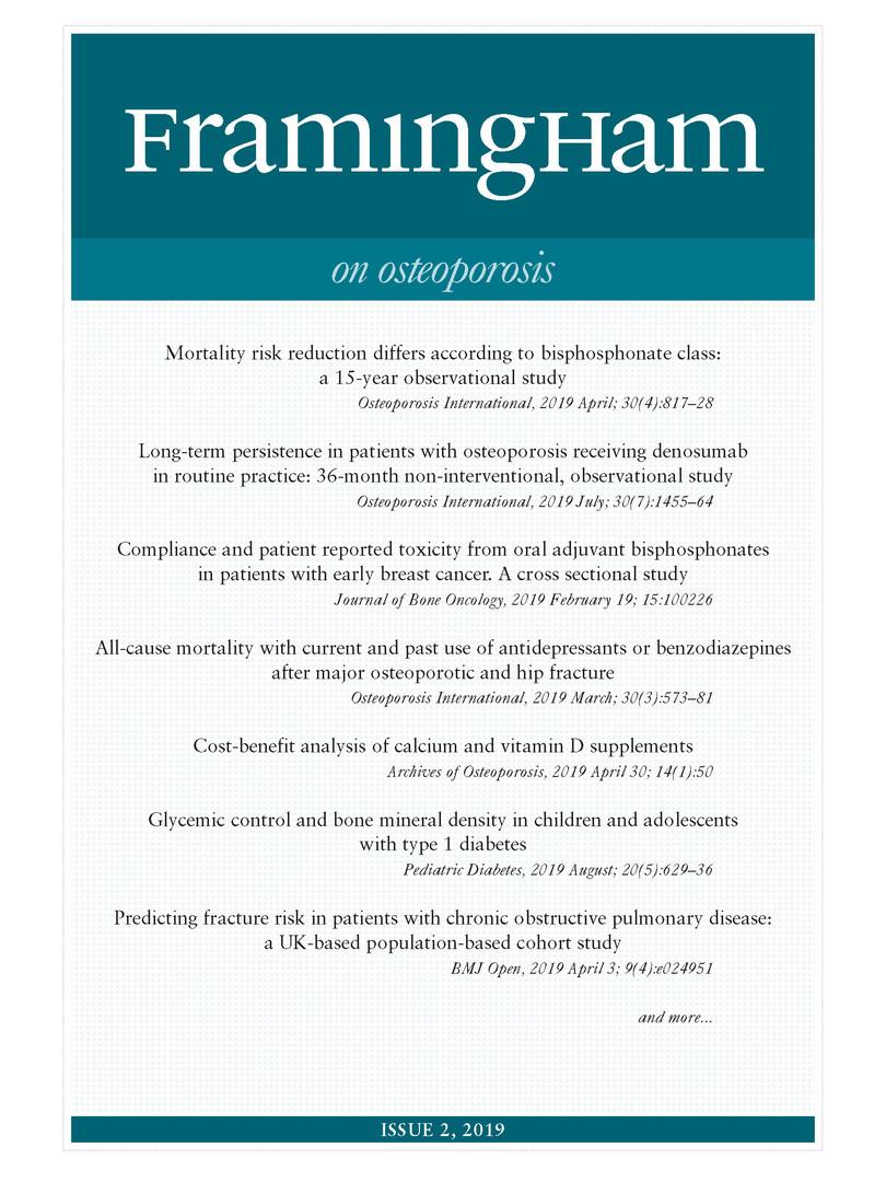 Framingham on Osteoporosis 2-2019