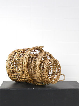 Round Rattan Baskets