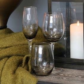 Tableware - Smoked glasses