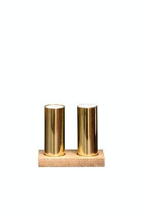 Gold Salt & Pepper Shakers