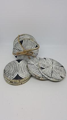 Braska Wooden Coasters