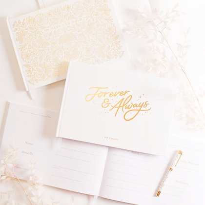 Forever and Always - Wedding Guest Book