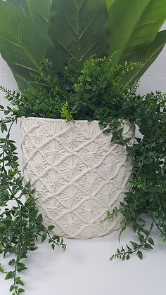 Crochet Look PLanter