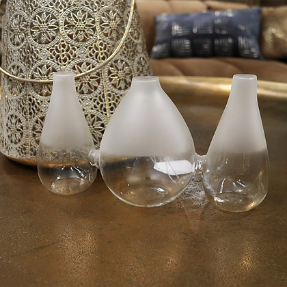 Sienna Frosted Vase