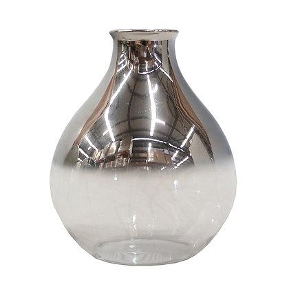 Sienna Metallic Vase