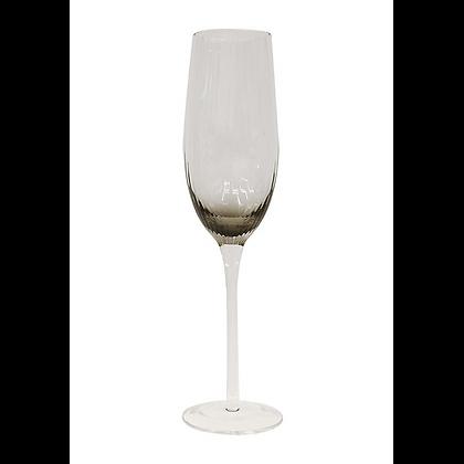 Smoked Champagne Glass