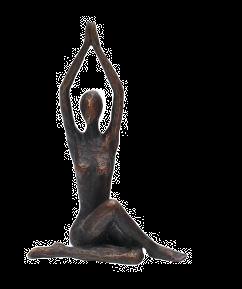 Yoga Lady Sitting