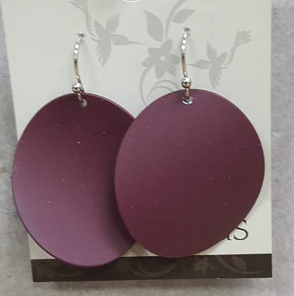 Luna Disk Earrings