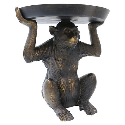 Monkey Pedestal Tray
