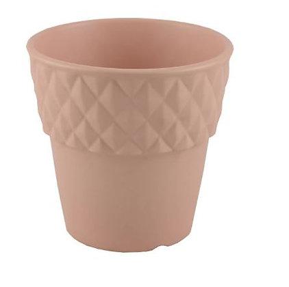 Pink Geometric Edge Planter