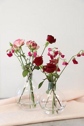 Glass Teardrop Vase