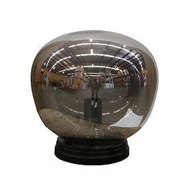 Bubble lamp - smoked - 29cm.jpg