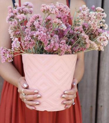 Pink Aztec Planter