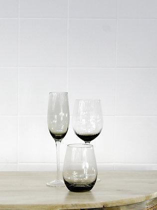 Smoked Wine Glass