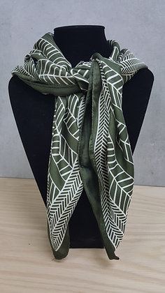 Abstract Square Scarf