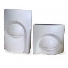 Set of Eye Vases