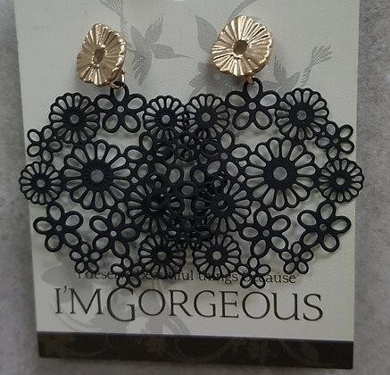 Luna Flower Earrings