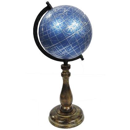 Blue Globe on a Stand