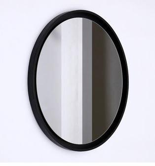 Black negative Detailed Mirror