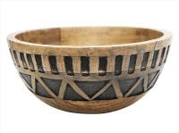 Zoki Carved Bowl