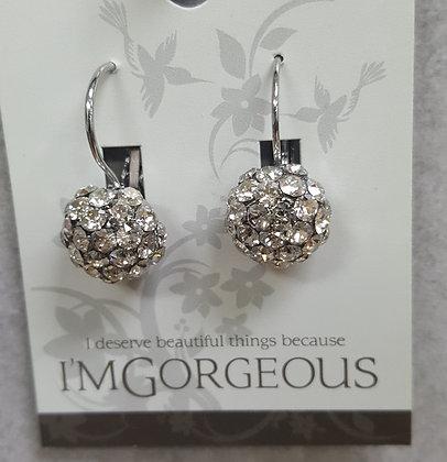 Urban Sophisticate Crystal Drop Earrings