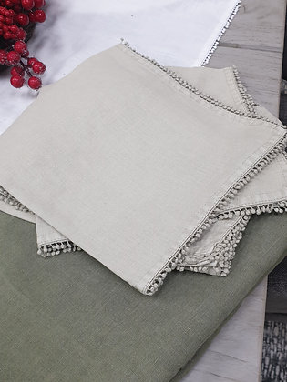Bauble Taupe Napkins